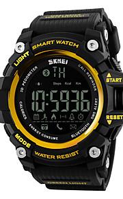 Masculino Mulheres Relógio Esportivo Relógio Inteligente Relógio de Pulso DigitalLCD Controle Remoto Calendário Impermeável alarme