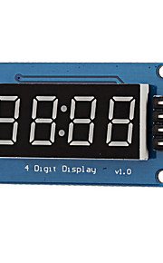 0.36 LED 4-Digit Display Module - Black  Blue