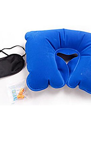 Travel Eye Mask / Sleep Mask Travel Pillow Travel Ear Plugs Portable for Travel Rest Cotton