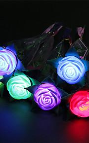 3pcs lichtgevende lenterozen speelgoed appel bloem speelgoed Valentijnsdag stellen Speelgoed partij vakantie geschenken decoraties