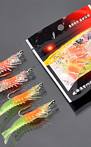2 pcs Fishing Lures Soft Bait Random Colors g/Ounce mm inch,Plastic General Fishing