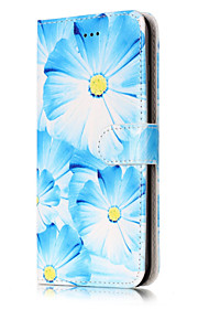 For iPhone 7Plus 7 PU Leather Material Orchid Pattern Painted Phone Case 6s Plus 6Plus 6S 6 SE 5s 5 5C