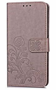 For ZTE Z MAX Pro Case with Card Holder Wallet with Stand Flip Embossed Case Full Body Case Flower Hard PU Leather for ZTE Z MAX Pro