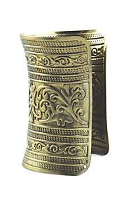 Dame Manchetarmbånd Smykker Mode Vintage Legering Geometrisk form Sølv Lysegul Smykker For Speciel Lejlighed 1 Stk.