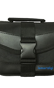 i-110 S Black Universal Camera Bag for All Mini DSLR DV Cameras Nikon Canon Sony Olympus... - Black