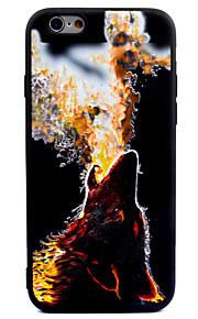 Per Effetto ghiaccio Fantasia/disegno Custodia Custodia posteriore Custodia Con animale Morbido TPU per AppleiPhone 7 Plus iPhone 7
