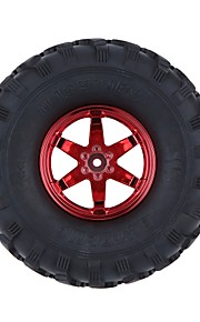 Geral RC Tire Pneu RC Carros / Buggy / Caminhões Vermelho Borracha Plástico