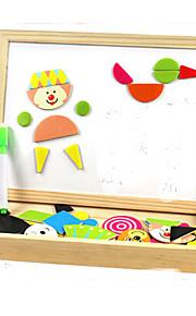Quebra-cabeças Brinquedo Educativo Blocos de construção Brinquedos Faça Você Mesmo Quadrangular 1 Hobbies de Lazer