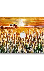 1 stk Ridsnings-Sikker Olie Maleri Transparent plastik Klistermærke Selvlysende Mønster ForMacBook Pro 15'' with Retina MacBook Pro 15 ''
