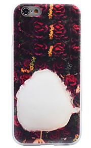 Per Effetto ghiaccio Fantasia/disegno Custodia Custodia posteriore Custodia Alimenti Morbido TPU per AppleiPhone 7 Plus iPhone 7 iPhone