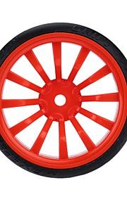 Geral RC Tire Pneu RC Carros / Buggy / Caminhões Vermelho Preto Branco Verde Azul Borracha Plástico