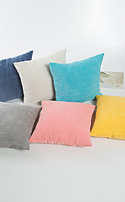 1 pcs Cotton Pillow Case,Solid Traditional/Classic Modern/Contemporary