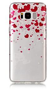 ל IMD שקוף תבנית מגן כיסוי אחורי מגן לב רך TPU ל Samsung S8 S8 Plus S7 edge S7 S6 edge S6 S5