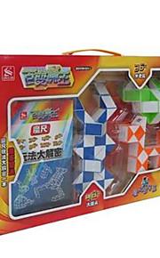 Cubo Macio de Velocidade Kit Faça Você Mesmo Cubos Mágicos Etiqueta lisa Anti-Abertura