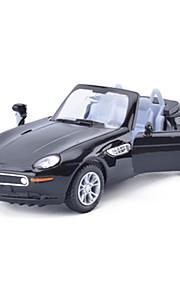 Macchina da corsa Veicoli a molla Giocattoli Car 1:28 ABS Rosso Nero Giallo Modellino e gioco di costruzione