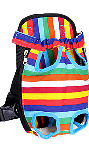 das Haustier Hund Rucksack Tasche Brust aus praktischer Transporttasche Rucksack vier Farb