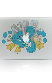 1枚 傷防止 風景 透明ベースプラスチック ボディーステッカー パターン 発光性 のためにMacBook Pro 15'' with Retina MacBook Proの15 '' MacBook Pro 13'' with Retina MacBook Proの13
