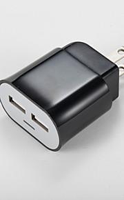 Caricabatterie portatile Per iPad Per cellulare Per tablet Per iPhone 2 porte USB Presa US