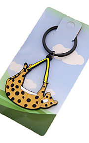 Key Chain Key Chain 黄色 プラスチック