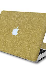 1 stk Ridsnings-Sikker Helfarve Transparent plastik Klistermærke Glitterskin Mønster ForMacBook Pro 15'' with Retina MacBook Pro 15 ''