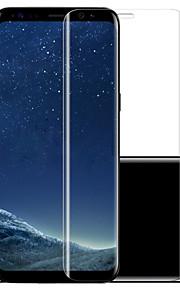 Åsling för Samsung calaxy S8 plus härdat glas 0,2 mm 3d heltäckande skyddsfilm
