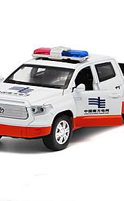 Ruspa Veicoli a molla Giocattoli Car 01:32 Metallo Plastica Bianco Blu Modellino e gioco di costruzione