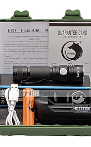 U'King CREE XPE LED 1500LM 3Mode Flashlight Torch Kit with Clip