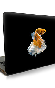 Para macbook air 11 13 / pro13 15 / pro con retina13 15 / macbook12 pescado descrito apple laptop case