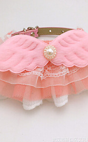 Collar Adjustable/Retractable Breathable Safety Training Solid Love Lace Blushing Pink Blue Yellow