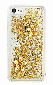 Voor iphone 7 7 plus vloeibaar vloeibaar patroon geval achterkant behuizing vlinder soft tpu voor iphone 6s 6 plus 5s 5 5c 4s