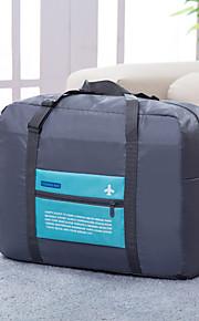 Sac de Voyage Pliable Portable Grande Capacité pour Rangement de Voyage Polyester-Orange Rouge Rose Vert Bleu
