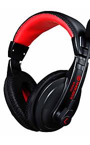 Słuchawki do gier 3.5mm gry słuchawki stereo słuchawki z mikrofonem hałas anulowanie skype dla pc laptopa gamer