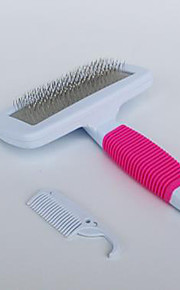 Dog Grooming Health Care Cleaning Comb Waterproof Portable Blushing Pink Green