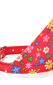 Dog Collar / Leash Adjustable/Retractable / Breathable / Running / Safety / Cosplay / Soft / Casual Polka Dots Black / Pink Fabric /