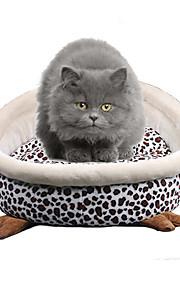 Katze Hund Betten Haustiere Matten & Polster Weich Leopard