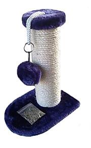 고양이 장난감 반려동물 장난감 인터렉티브 견고함 스크래치 패드 나무 사이잘 블루