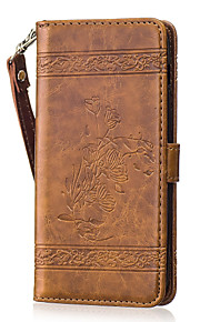 Per Custodie cover A portafoglio Porta-carte di credito Con supporto Con chiusura magnetica Fantasia/disegno Integrale CustodiaFiore