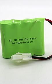 Ni-mh Batterie aa 1800mah 4.8v