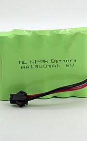 Ni-MH-Batterie aa 1800mAh 6v