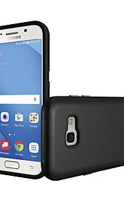 Для Samsung Galaxy a5 (2017) a7 (2017) чехол чехол ударопрочный задняя крышка сплошной цвет жесткий pc a5 (2016)