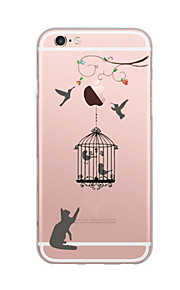 For Case Cover Ultra Thin Pattern Back Cover Case Cat Soft TPU for iPhone 7 Plus 7 6s Plus 6 Plus 6s SE 5S 5