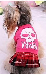 Hunde T-shirt Hundekleidung Niedlich Modisch Prinzessin Fuchsia