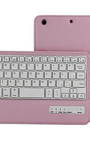 Para el ipad de la manzana mini 3 mini 2 mini 1 desmontable extraíble teclado sin hilos del bluetooth folio tirón protector delgado caso