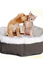 Gato Cachorro Camas Animais de Estimação Capachos e Alcochoadas Macio Branco