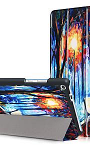 Print hoesje voor lenovo tab3 tab 3 7 plus 7703 tb-7703x tb3-7703f met schermfolie