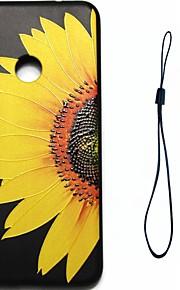 huawei p8 lite (2017) p10 케이스 커버 꽃 패턴 연료 분사 릴리프 도금 버튼 두꺼운 tpu 소재 전화 케이스 p10 라이트 p10 plus