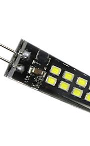 3W G4 LED-lamper med G-sokkel 16 SMD 2835 200-300 lm Varm hvit Naturlig hvit Hvit Dekorativ V 1 stk.