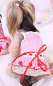 Hunde T-shirt Hundekleidung Niedlich Modisch Prinzessin Blau Rosa