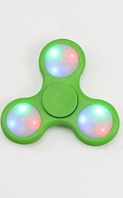 Fidget spinners Hilandero de mano Juguetes Tri-Spinner Plástico EDCAlivia ADD, ADHD, Ansiedad, Autismo Por matar el tiempo Juguete del