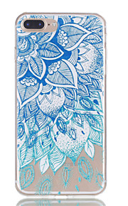 Für iphone 7plus 7 tpu Material Blätter Muster Relief Telefon Fall 6s plus 6plus 6s 6 se 5s 5
